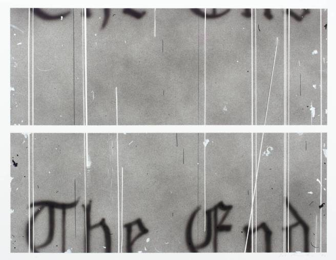 The End #1 1993 by Edward Ruscha born 1937
